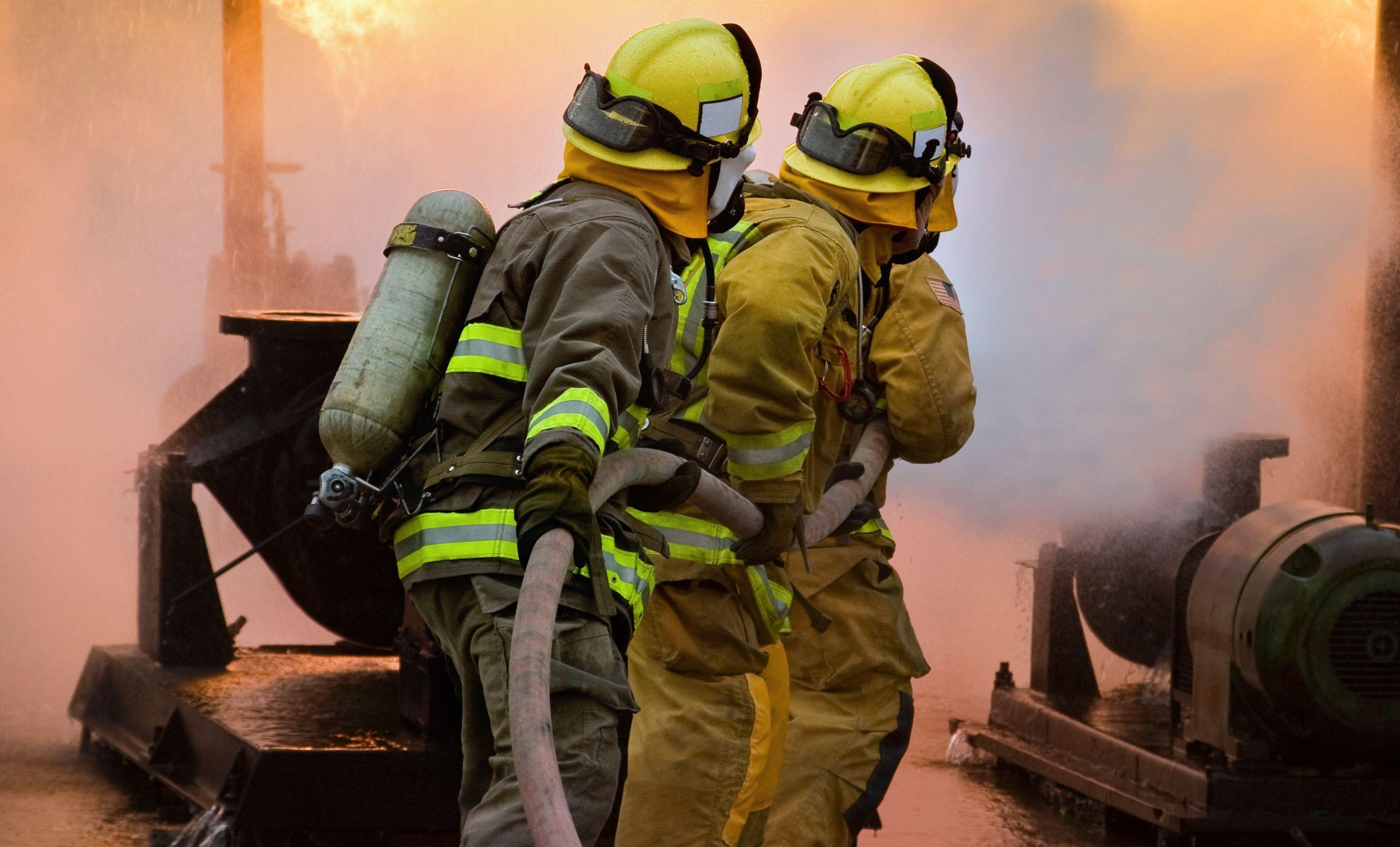 Рабочее место у пожарной охраны для спецоценки